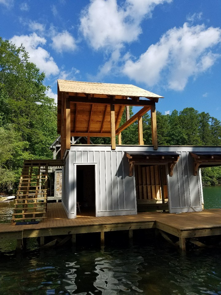Stallman boathouse front