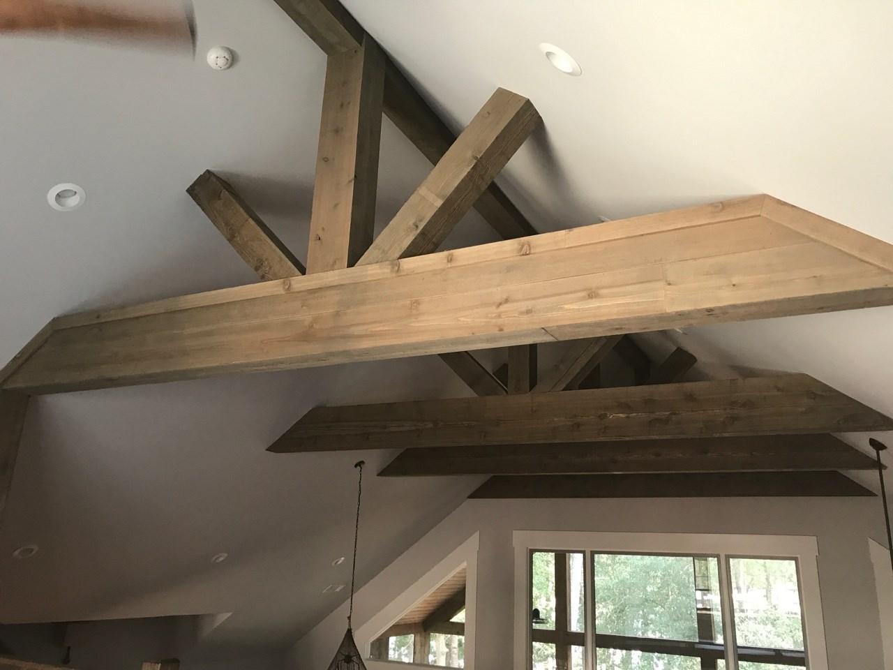 Vickers Ceiling beams