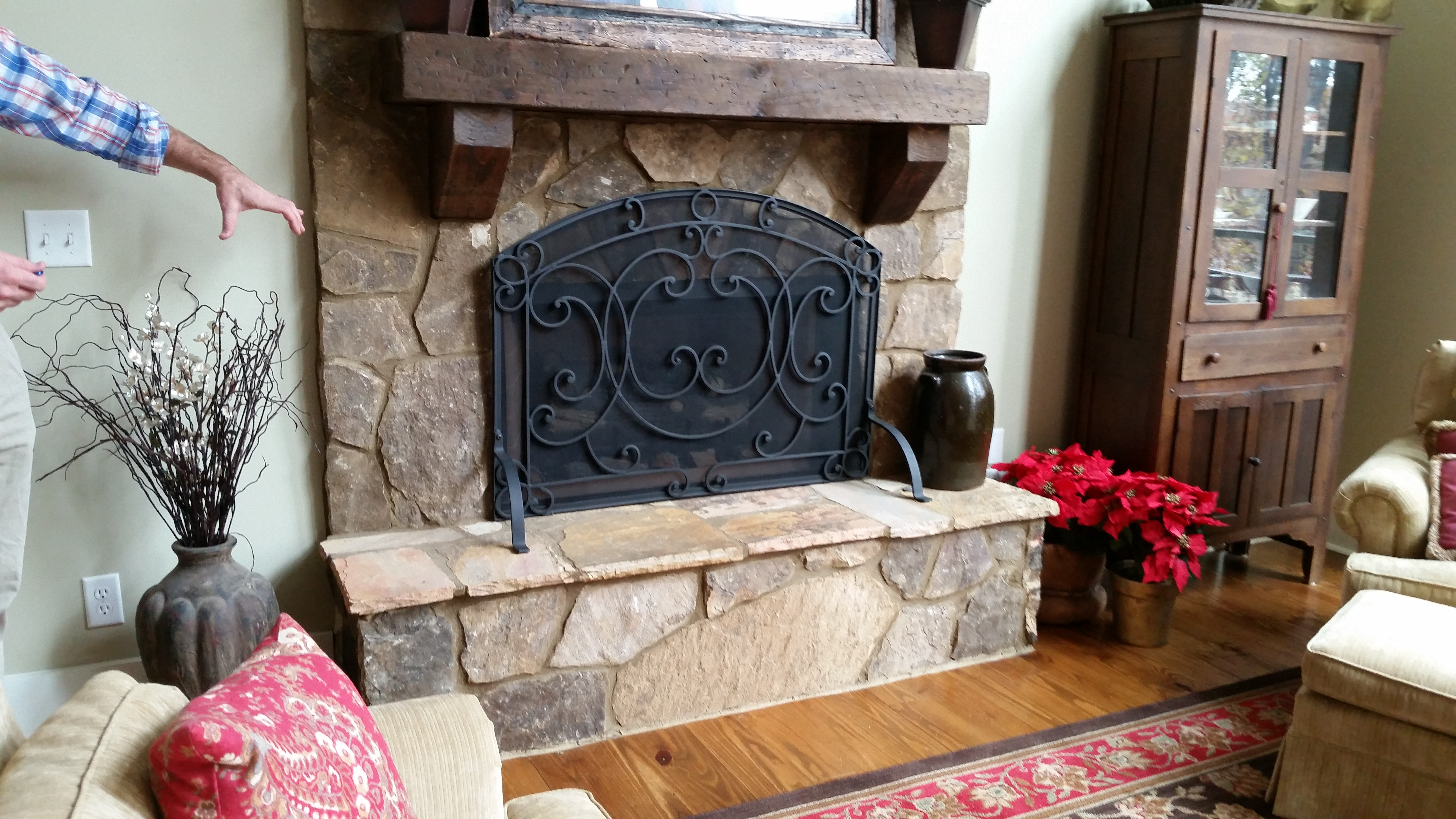 Oliver fireplace