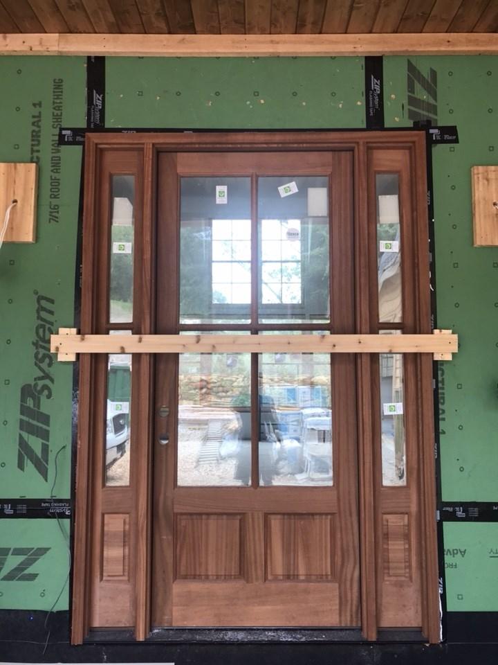 7-entry door