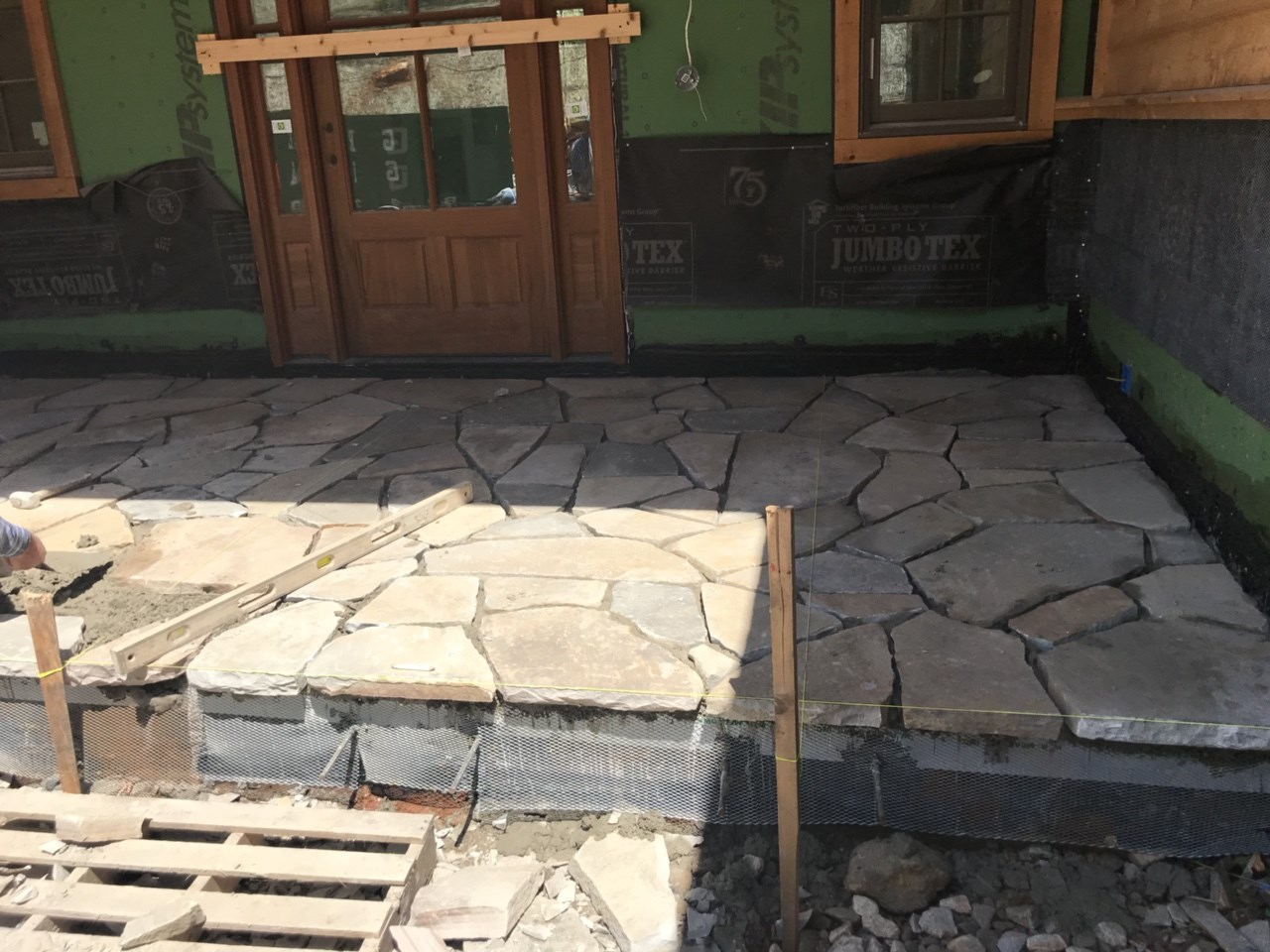 3-flagstone on entry porch