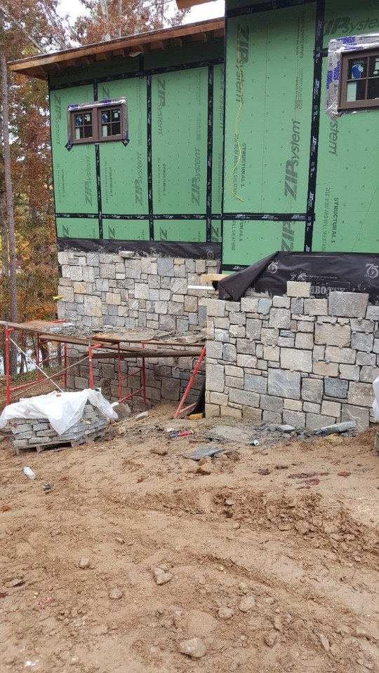 7-stonework siding