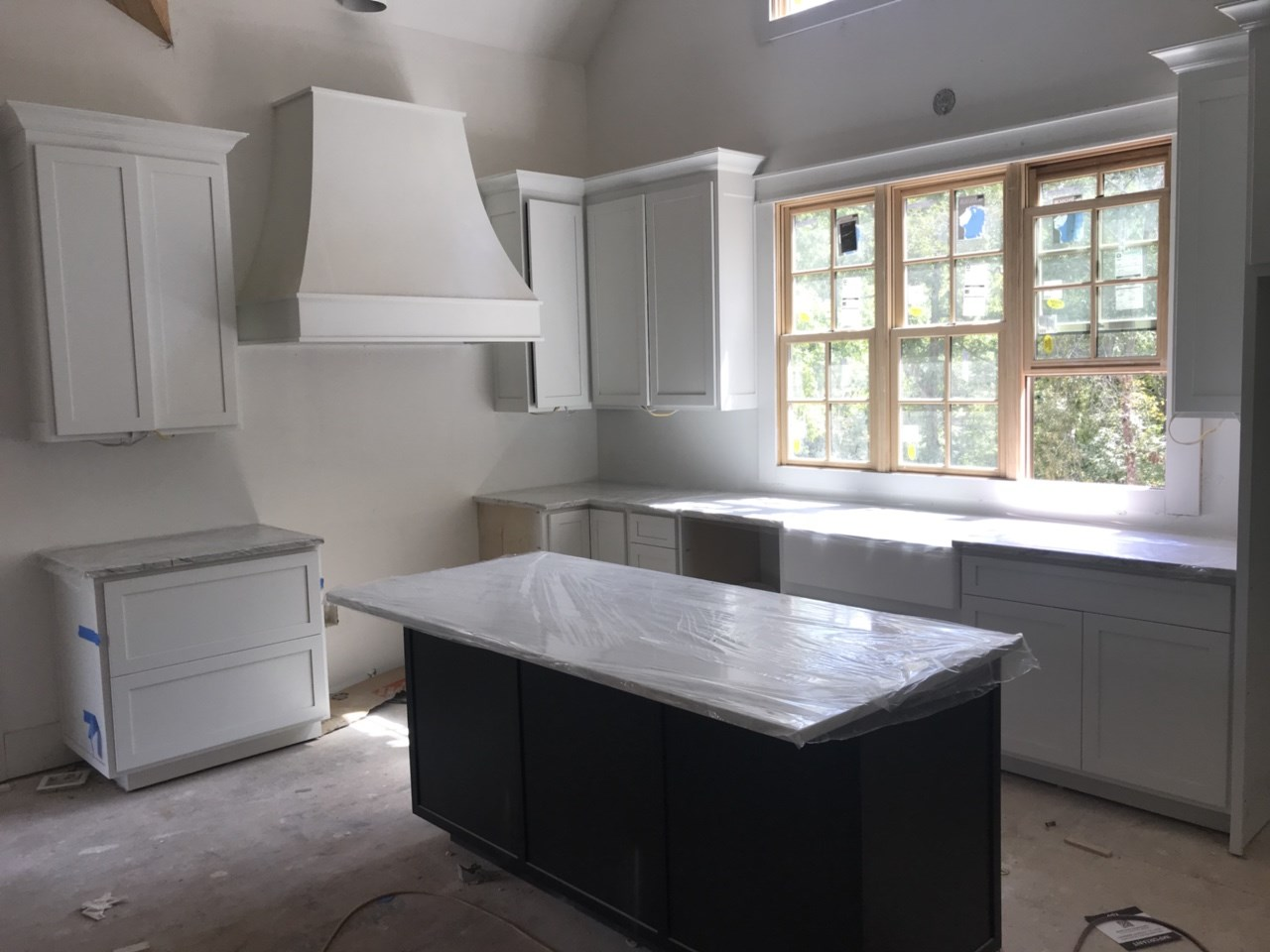 2-kitchen cabinets and granite