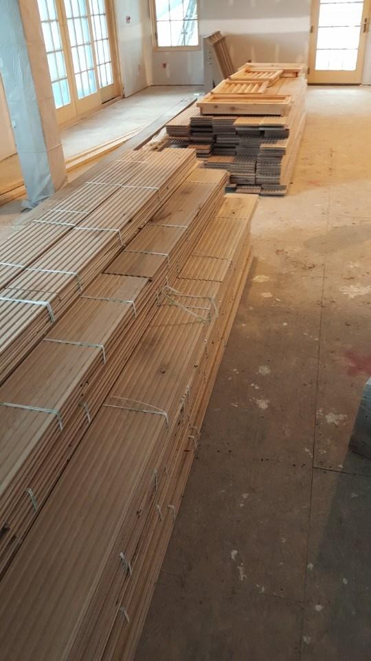 4-wood flooring delivered