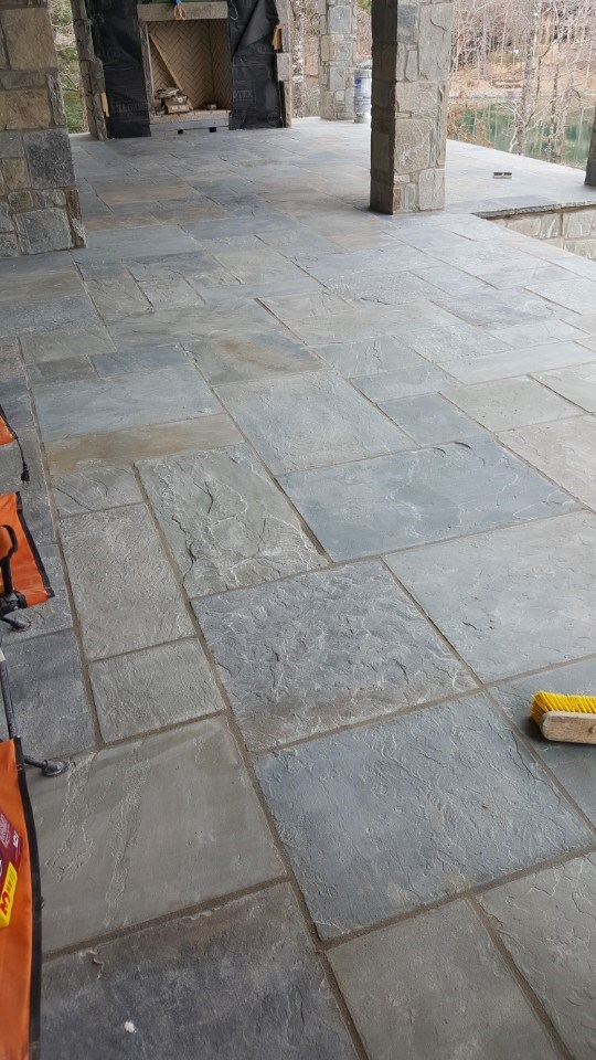 4-slate grouted